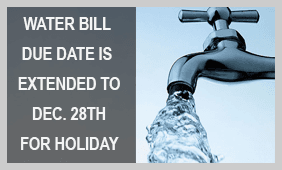 Water Bill Due