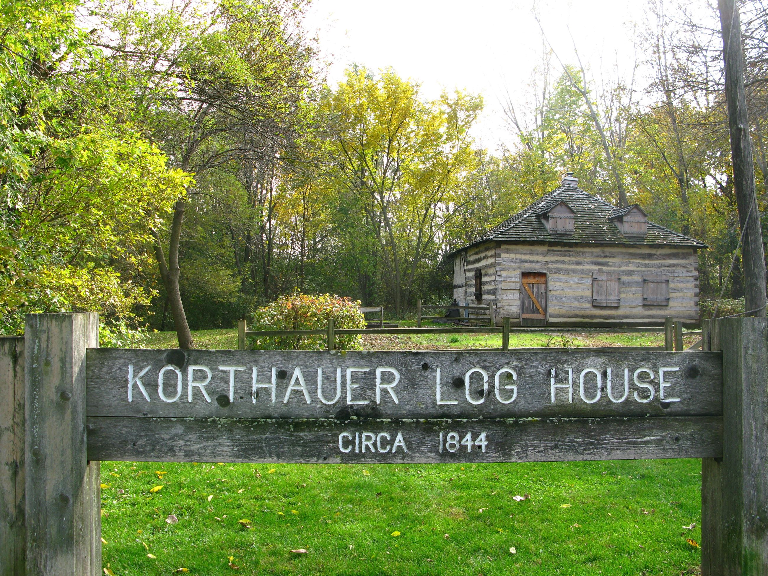 Korthauer Log House
