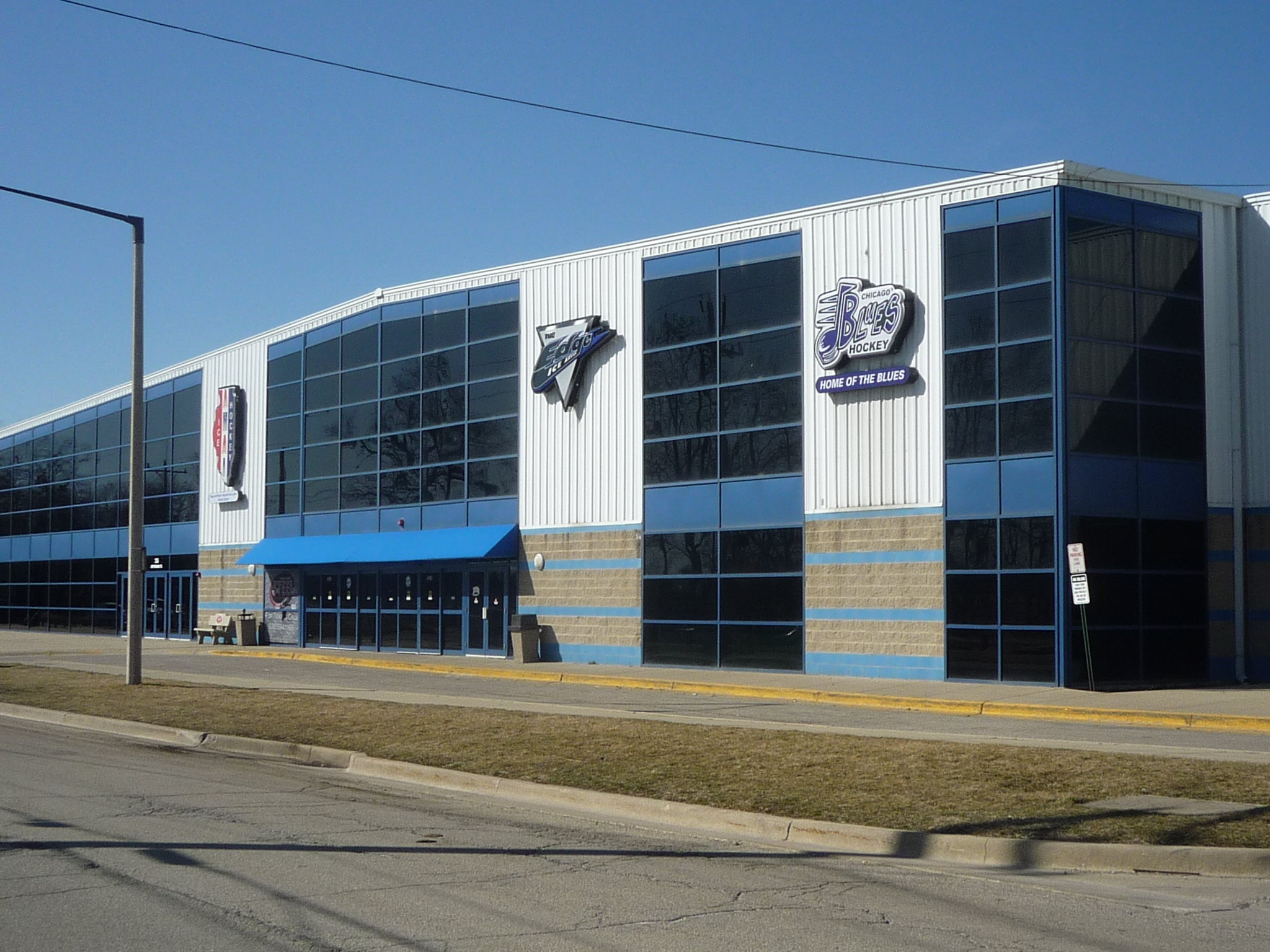 Edge Ice Arena Outside